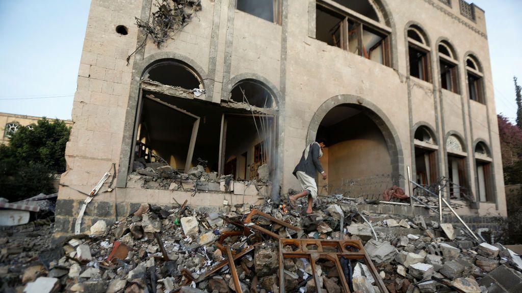 Yemen, convertido en escombros