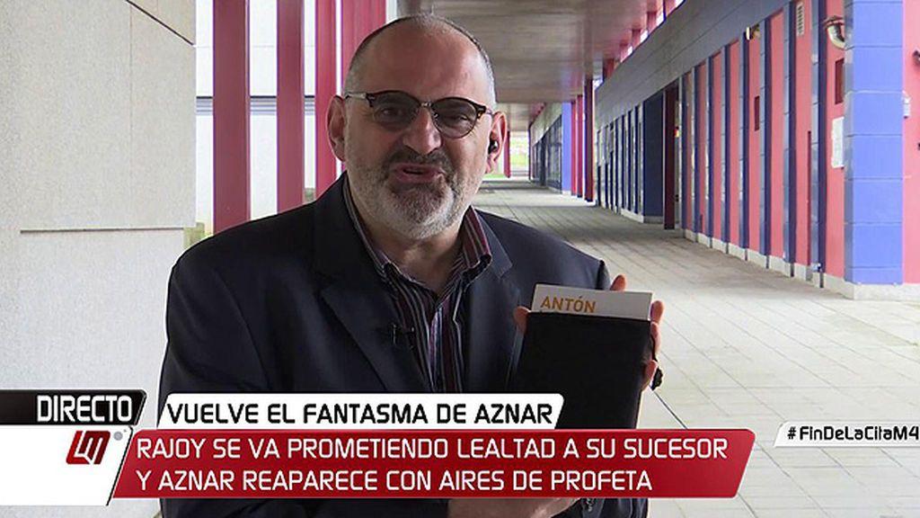 """Antón Losada: """"Me siento viudo y tengo de luto al 'Código Mariano"""""""