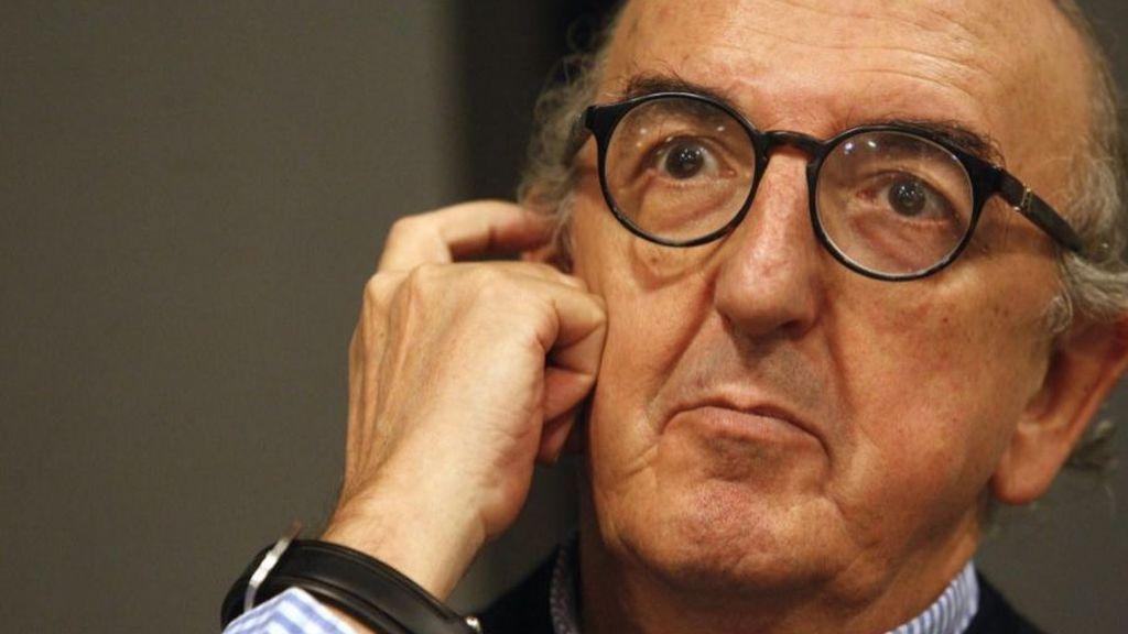 Jaume Roures, fundador y presidente de Mediapro, durante una entrevista en la sede de su compañía.