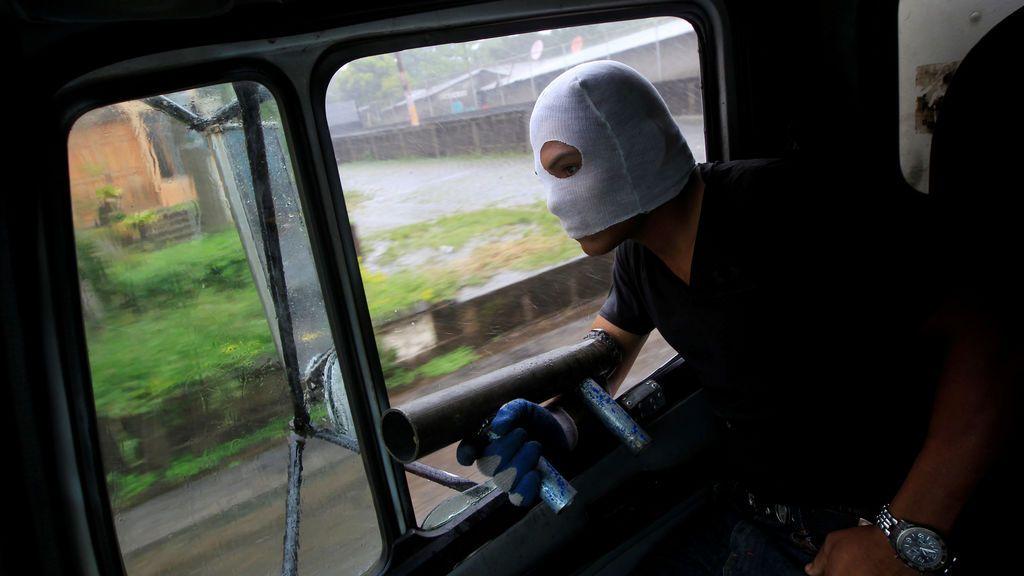Protesta con morteros en Nicaragua