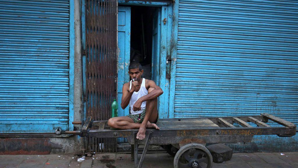 Imagen cotidiana de la India