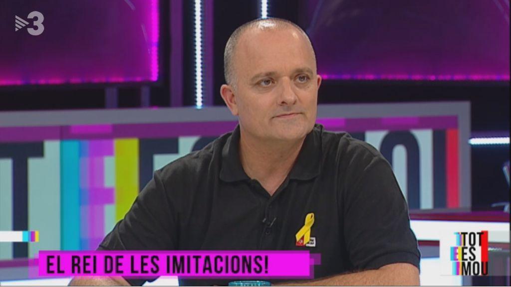 Toni Albà, en el programa 'Tot es mou' de TV3 el 23 de mayo de 2018.