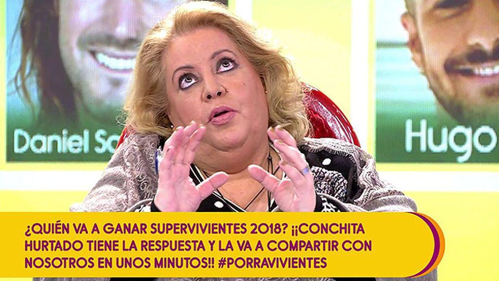 La vidente Conchita lo tiene claro: Sofía será la ganadora de 'Supervivientes'  y Logan, el cuarto finalista