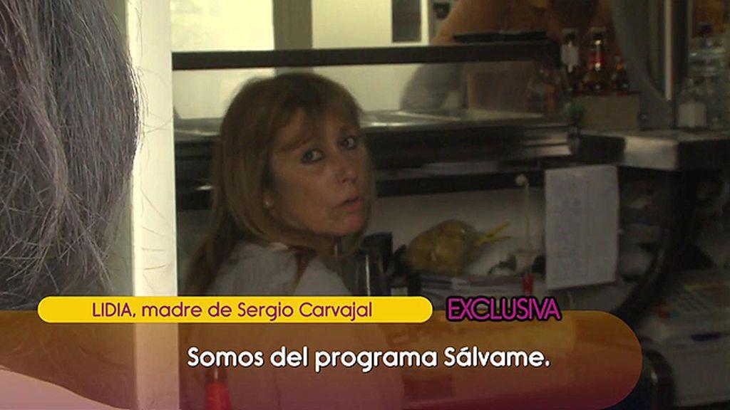 "El encontronazo de 'Sálvame' con la madre de Sergio Carvajal: ""Os estáis pasando conmigo"""