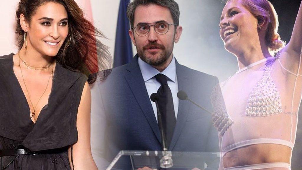 Soraya, Vicky Martín Berrocal... Los vips se emocionan con la toma de posesión de Màxim Huerta