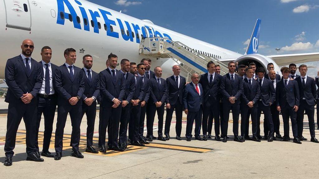 ¡Comienza el sueño! La Roja parte rumbo a Rusia en busca de su segundo Mundial