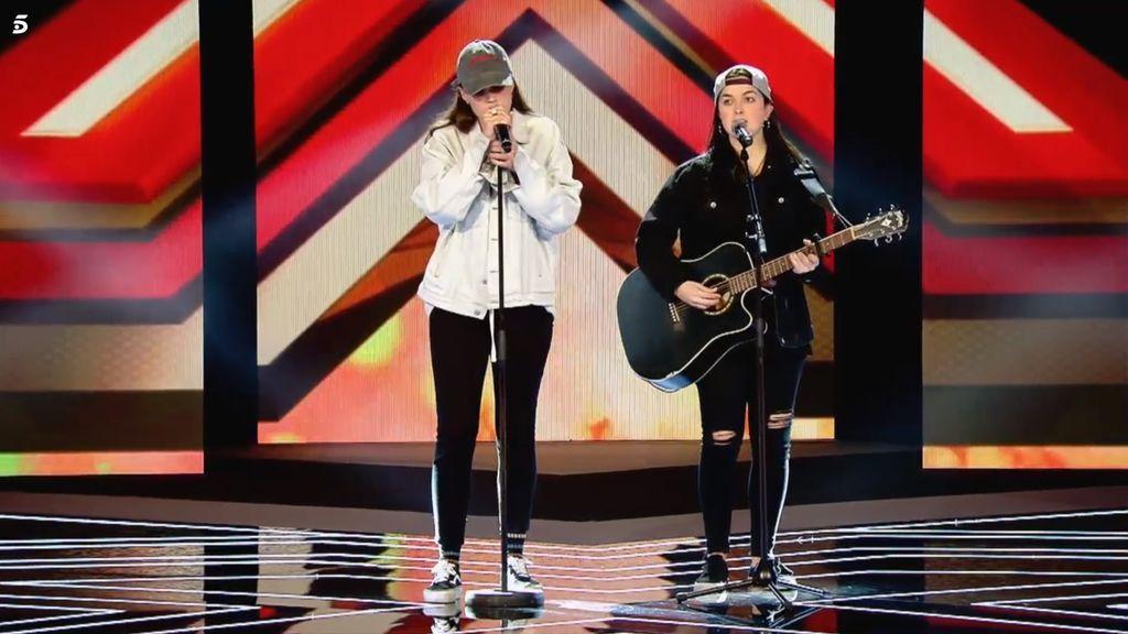 W CAPS, concursantes 'Factor X' equipo Xavi Martínez