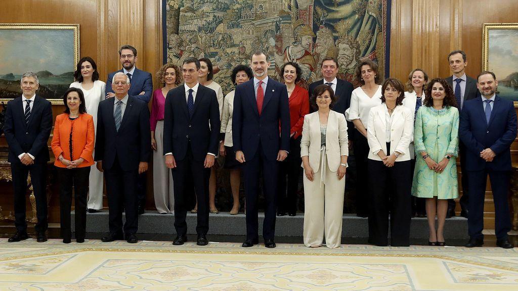 Aciertos y errores de los looks en la toma de posesión de las ministras y ministros de Sánchez