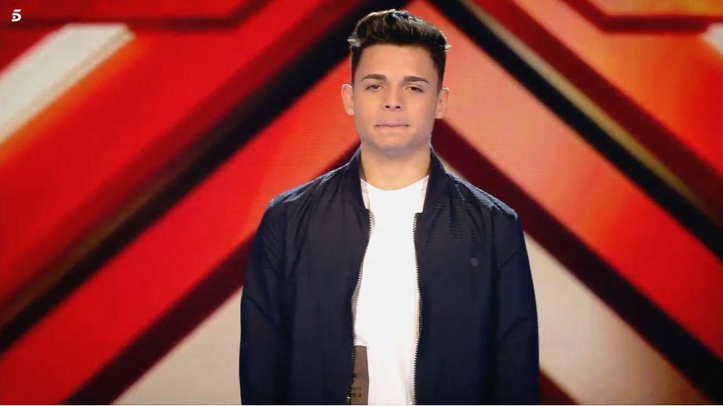 Samuel, concursante 'Factor X' equipo Laura Pausini