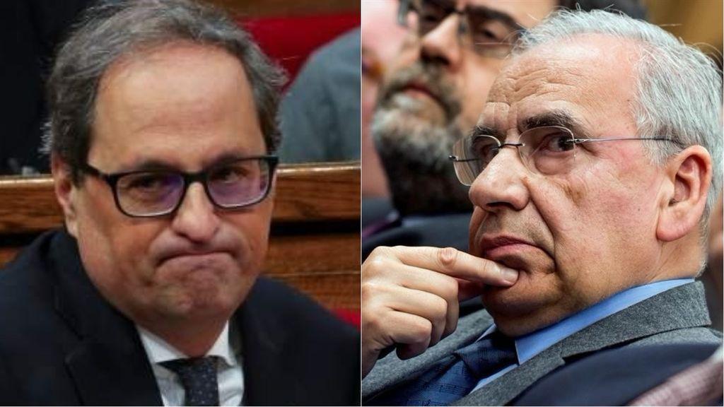 Quim Torra presenta una querella contra Alfonso Guerra por presuntas injurias e incitación al odio