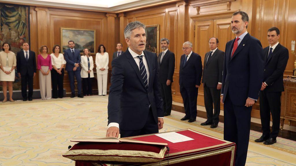 Grande-Marlaska toma posesión como ministro de Interior