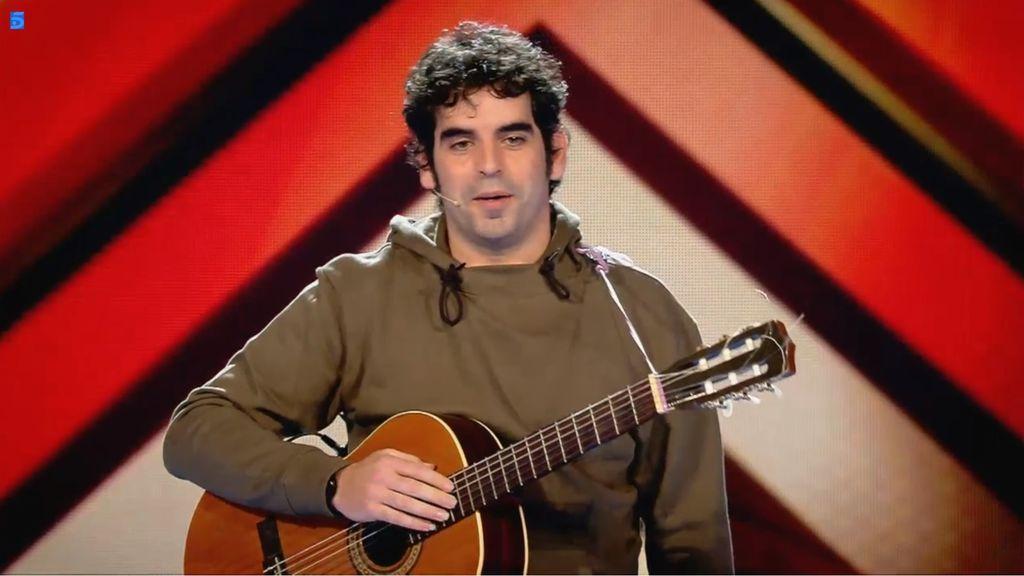 Oscárboles, consursante 'Factor X' equipo Fernando Montesinos