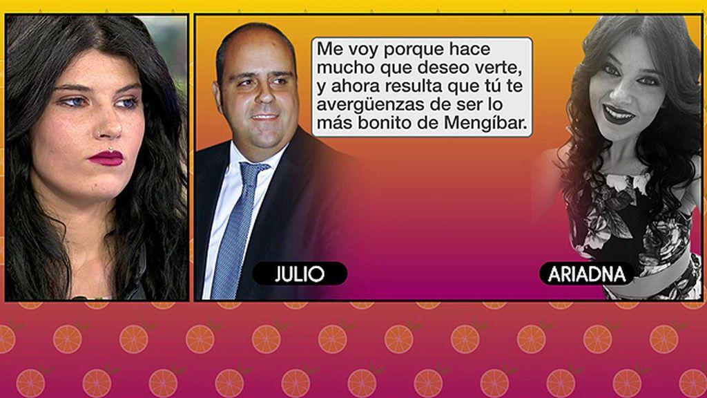 """El futuro marido de Mª Jesús Ruiz, a una joven de 18 años: """"Conmigo vivirías como una reina"""""""