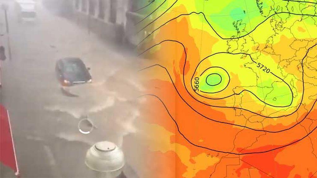 Daños en Cataluña por el temporal: te decimos cómo va a evolucionar la meteorología