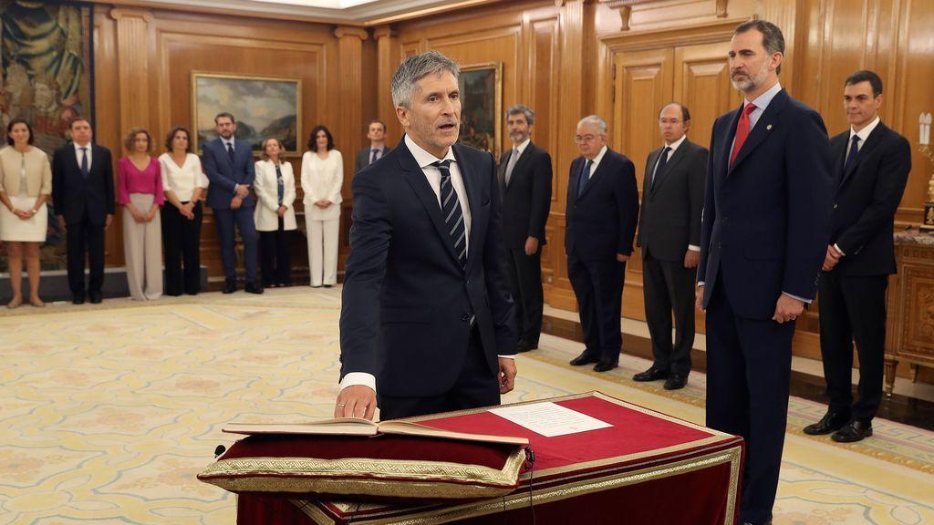 Grande-Marlaska promete su cargo de ministro del Interior ante el Rey