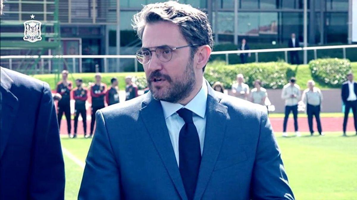 Los dos tuits que demuestran que Màxim Huerta sí está en los momentos clave del deporte español