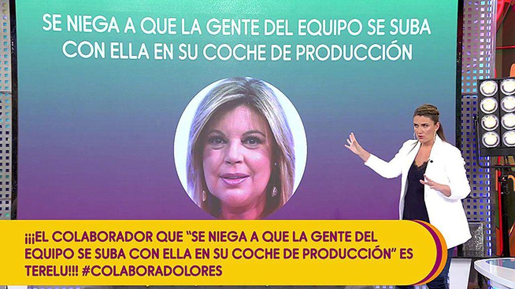 Terelu Campos desmiente: no le importa compartir coche de producción con sus compañeros de 'Sálvame'
