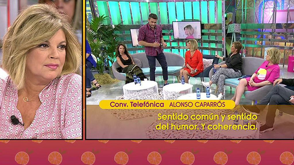 "Alonso Caparrós acusa a Carmen Borrego de hacerle ""chantaje emocional"""