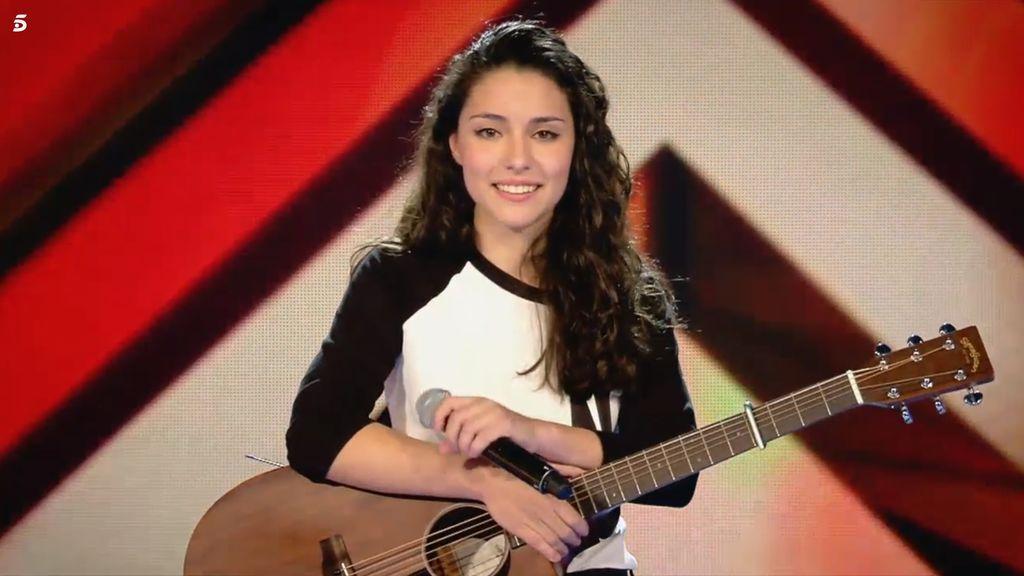 Elena, concursante 'Factor X' equipo Risto