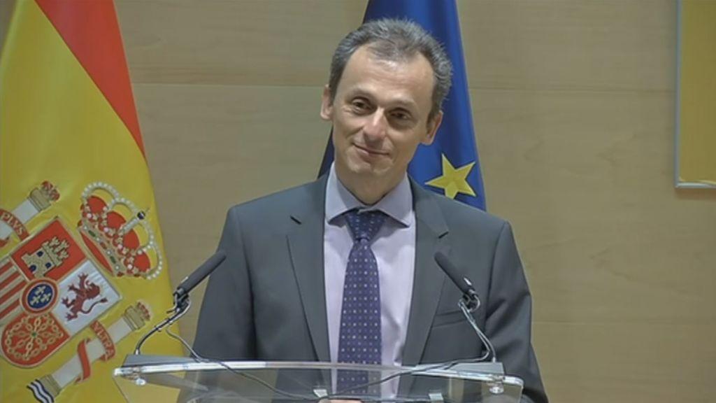 """Pedro Duque, tras recibir la cartera del ministerio de Ciencia: """"Vengo de naves espaciales"""""""
