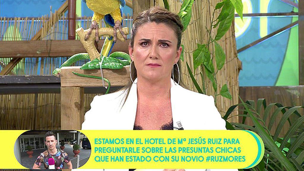 """La emocionada defensa de Carlota Corredera a Màxim Huerta: """"¿Qué somos quienes trabajamos en televisión, apestados?"""""""