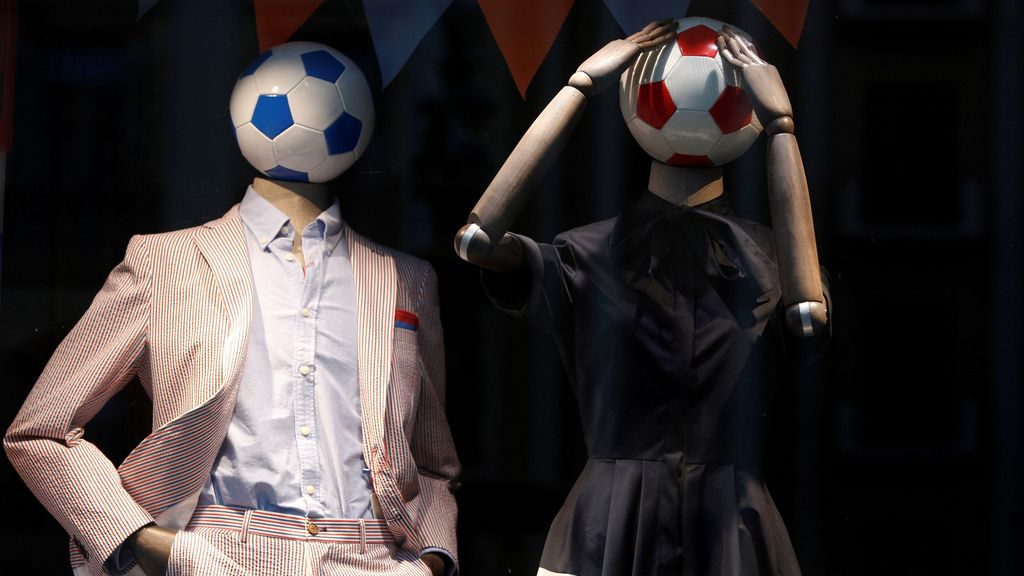 Maniquís con sabor a Mundial de fútbol