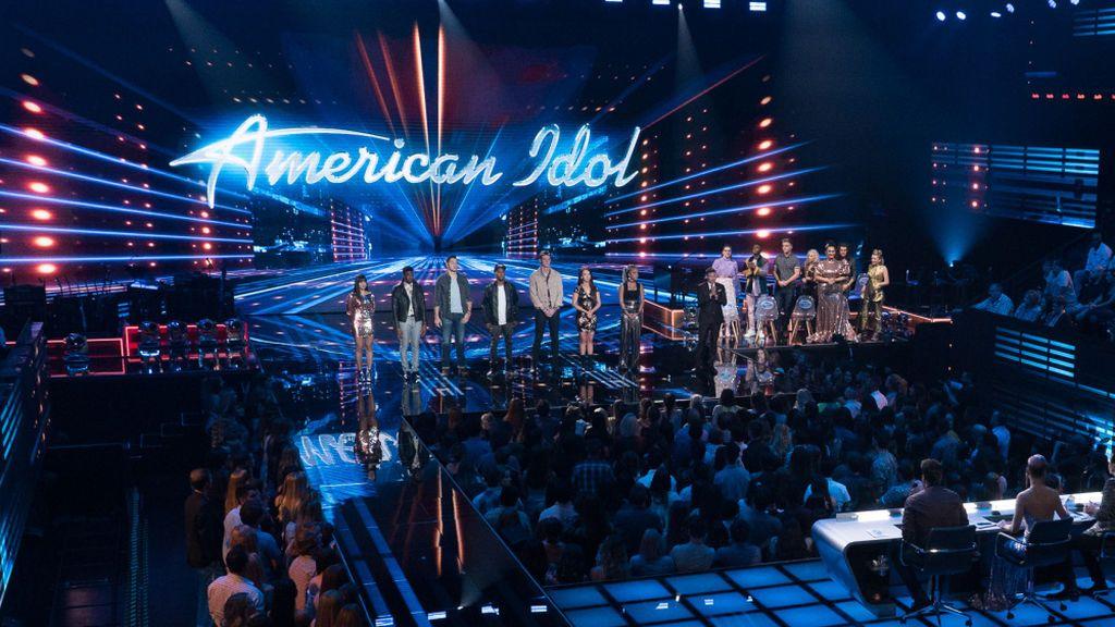 Imagen de la versión estadounidense de 'American idol', emitida en ABC.
