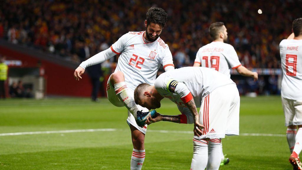 España llega al Mundial de Rusia como la selección con mejor porcentaje de pase