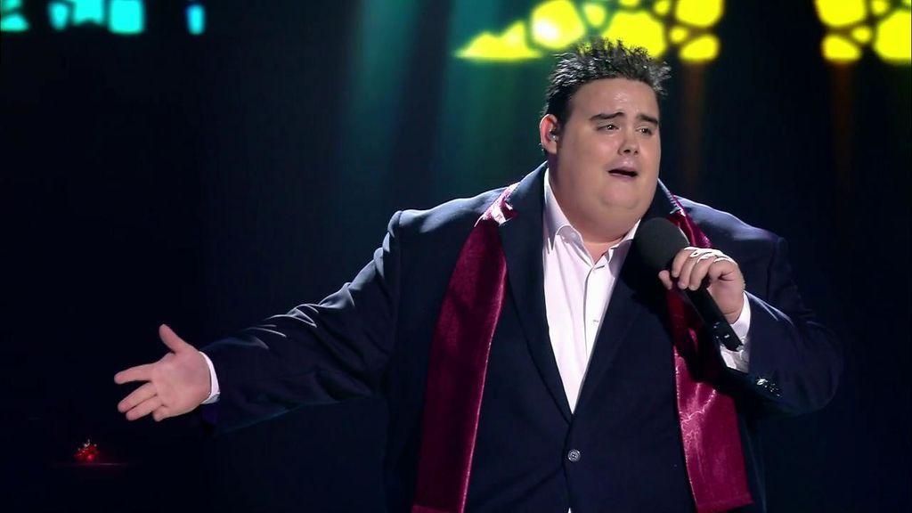 ¡Ole, ole y ole! El Niño Bermejo pone al público en pie cantando por Niña Pastori