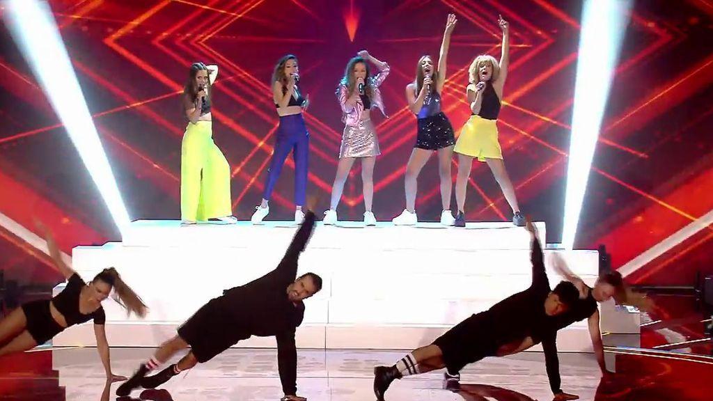 Las chicas de Noah traen el ritmo a 'Factor X'... pero dejan frío a Risto Mejide