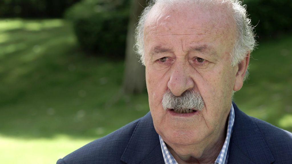 """Vicente del Bosque: """"Voy a muerte con Julen Lopetegui"""""""