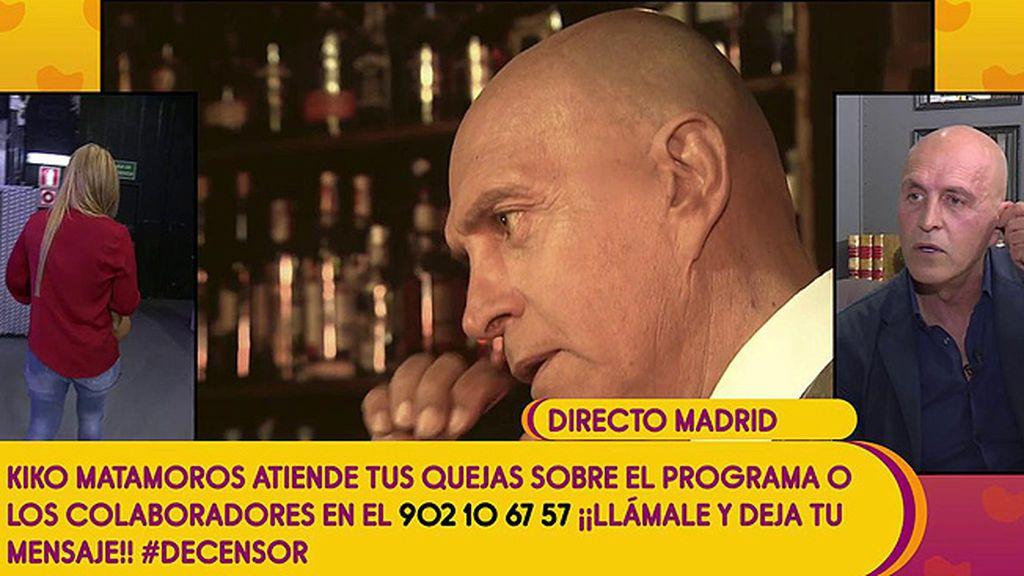"""Belén Esteban abandona el plató ante una """"provocación"""" de Kiko Matamoros"""