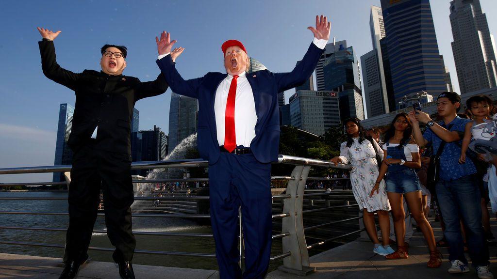 Encuentro entre 'Kim Jong-un' y 'Donald Trump'