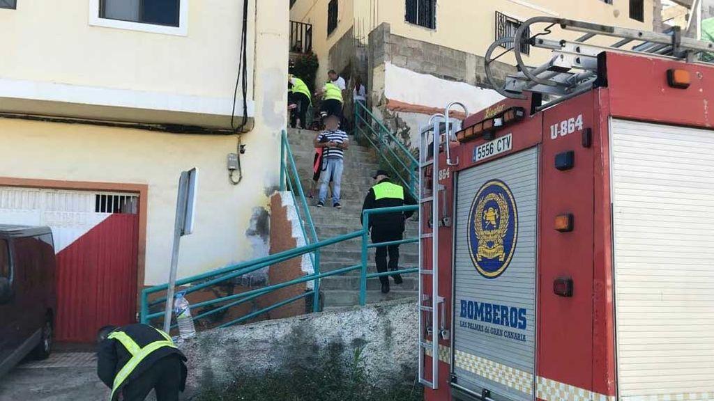 Muere una mujer y un hombre resulta herido de gravedad en una explosión en una casa de Gran Canaria