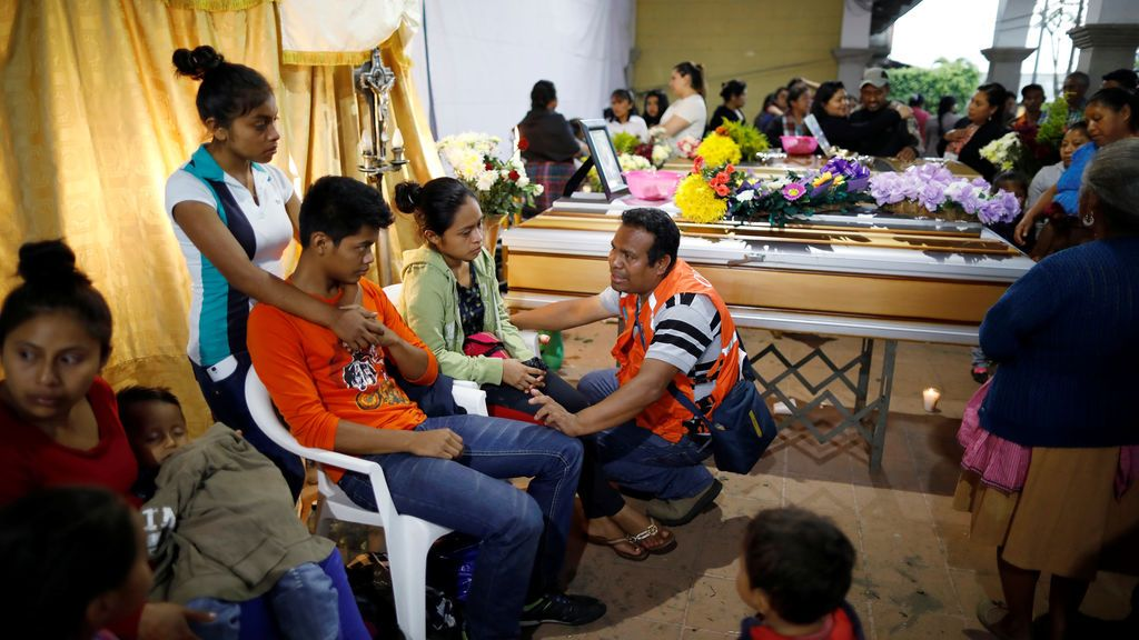 Se elevan a 109 los muertos por el Volcán de Fuego de Guatemala