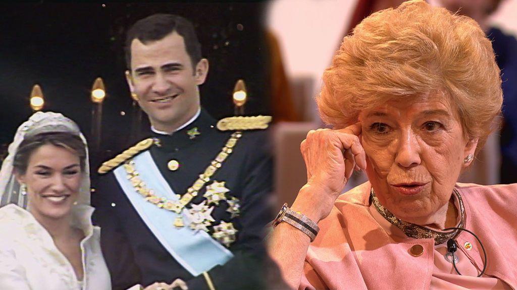 """Pilar Urbano: """"Felipe VI habría renunciado a Letizia si sus padres se hubieran opuesto a la relación"""""""