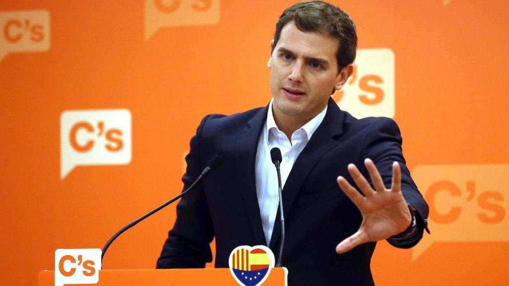 """Rivera: """"Hay que reformar la Constitución, pero no para una nación de naciones"""""""