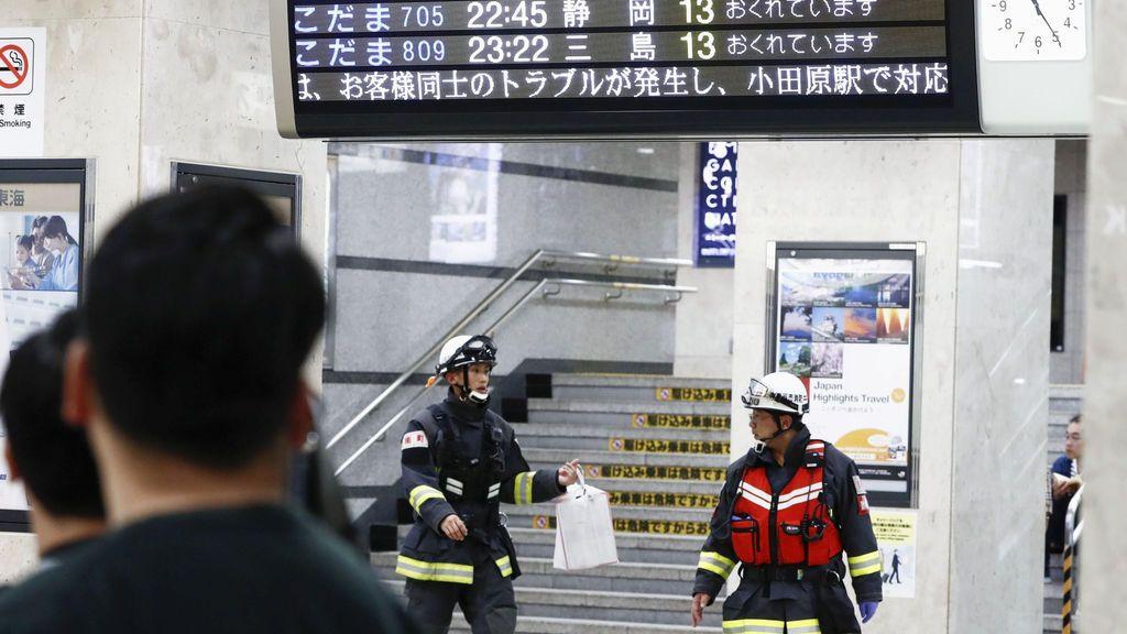 Un muerto y dos heridos por un apuñalamiento en un tren bala de Japón