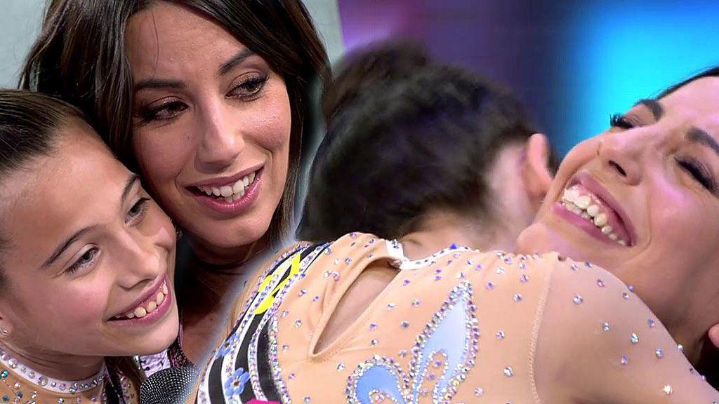 ¡Morimos de amor! Melani sorprende a Almudena Cid y la gimnasta rompe a llorar