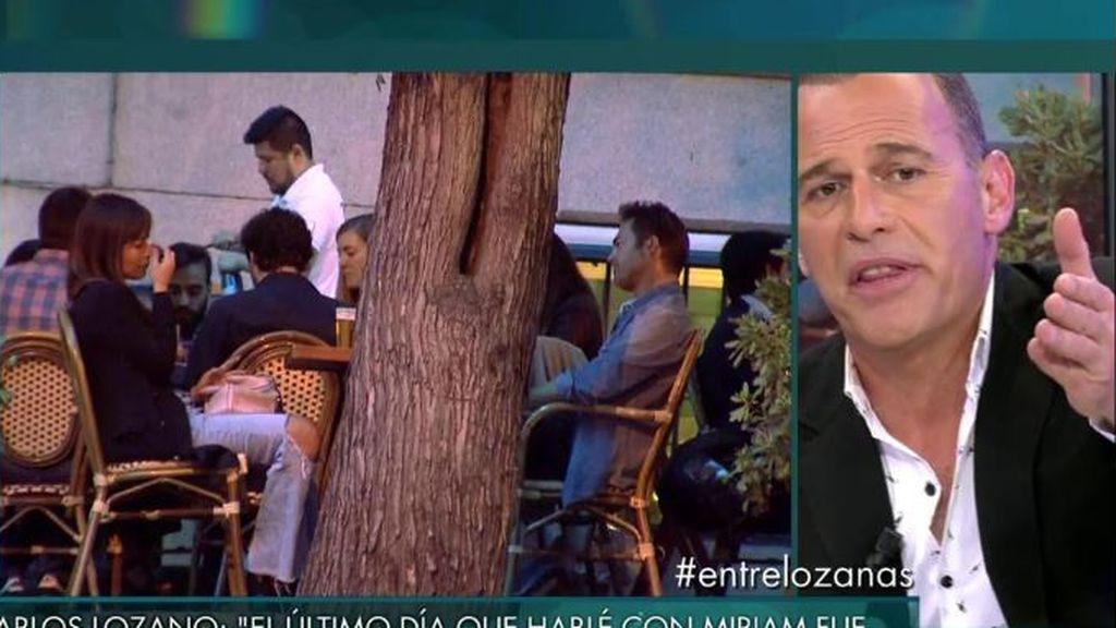 """Lozano: """"Lo de Miriam con Castejón es un montaje para hacer televisión"""""""
