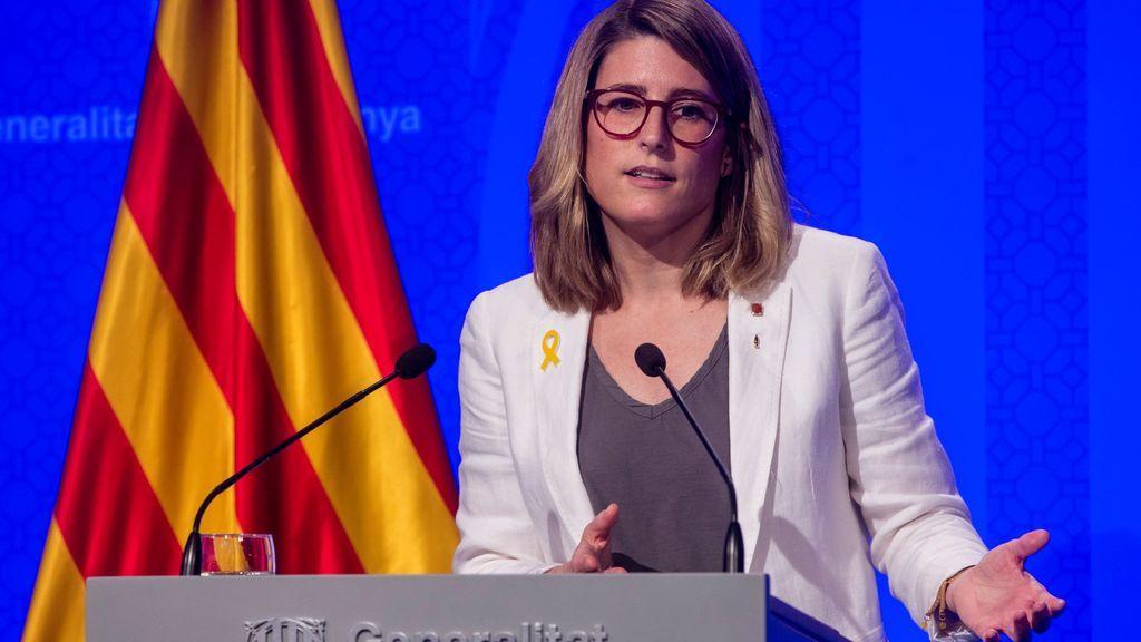 """Elsa Artadi: """"No podemos renunciar ni a la unilateralidad ni a la desobediencia"""""""