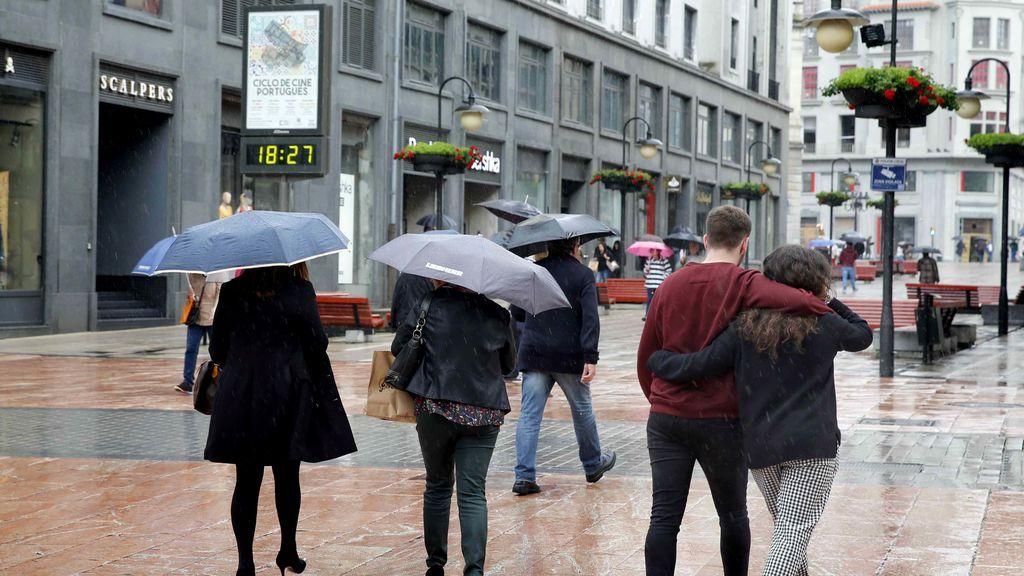 Nubes con probabilidad de lluvias en gran parte de España