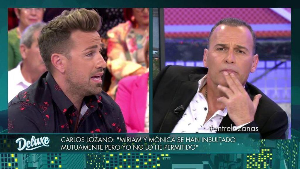 "Lozano pilla a Rafa Mora en directo: ""¡Qué vergüenza que Mónica  te diga cosas privadas!"""