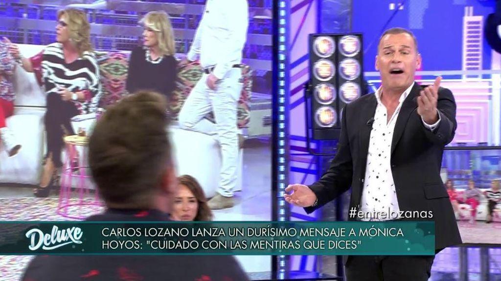 """Carlos Lozano estalla ante Rafa Mora: """"¡Tienes que contrastar tu información!"""""""