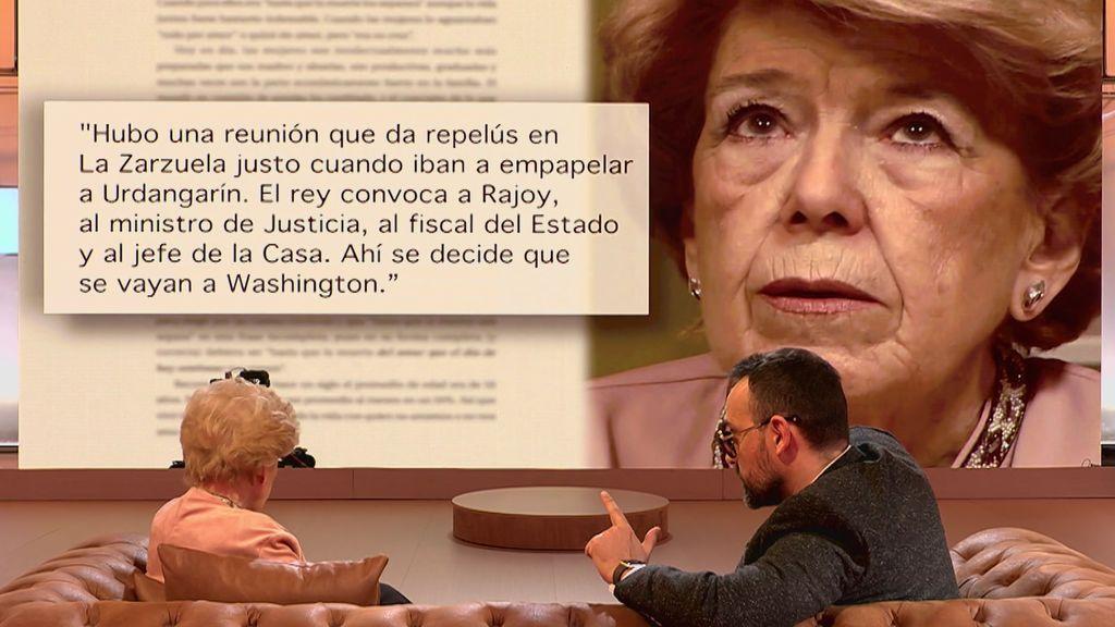 "La reunión secreta de Zarzuela que provocó que Cristina dejara de estar imputada ""a través de sicarios"""