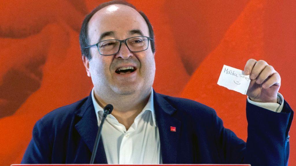 """Iceta reivindica que el PSC """"no es equidistante"""" y expresa su voluntad de diálogo"""