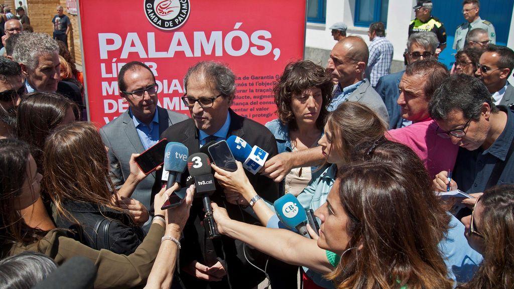 Torra celebra propuestas de reforma constitucional pero avisa de que el Govern parte del 1-O