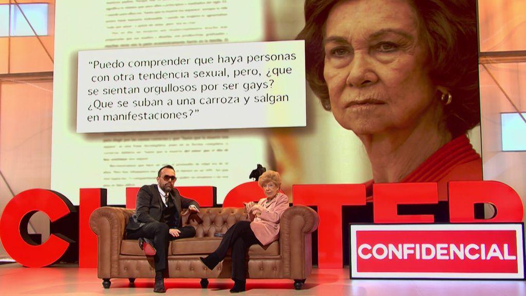 El desagradable gesto de Doña Sofía con Pilar Urbano que supuso el fin de su amistad