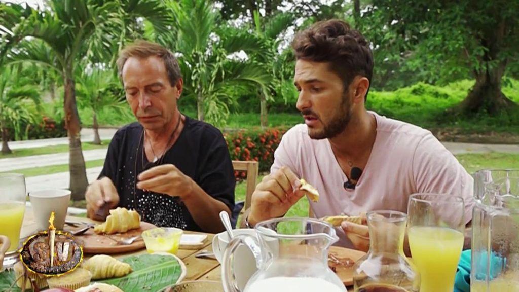 Hugo y Maestro Joao se mojan: ¿A cual de sus compañeros dejarían sin este espectacular desayuno?