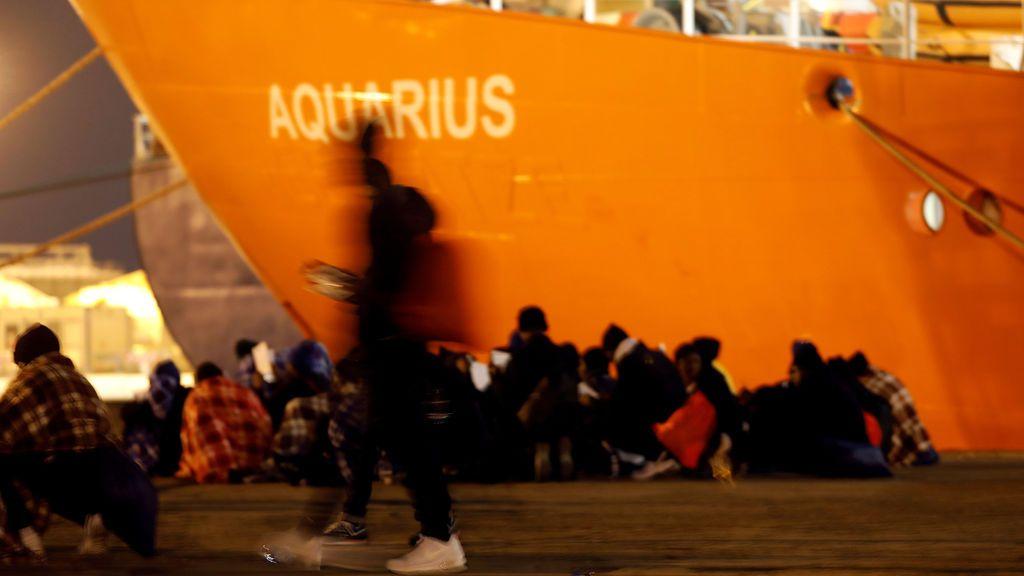 Salvini cierra los puertos de Italia al barco 'Aquarius', con más de 600 inmigrantes a bordo